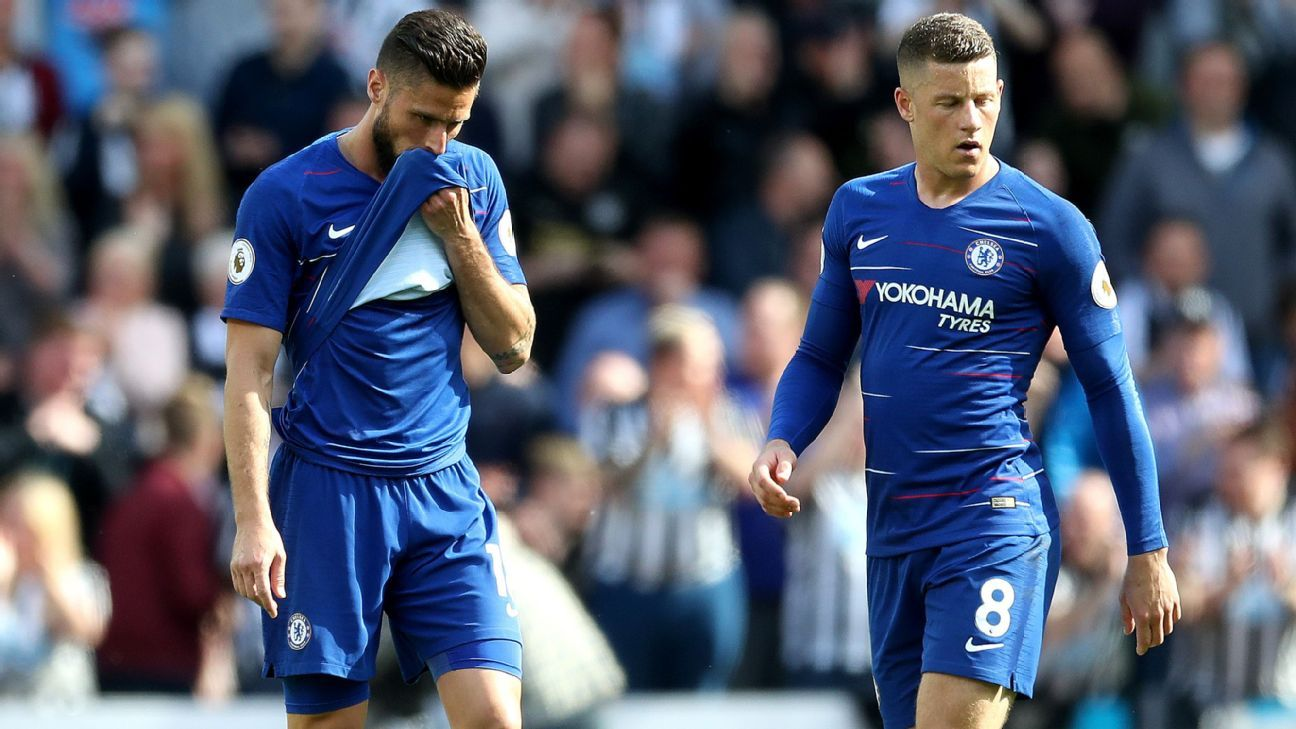 Chelsea's limp spring ruined their hopes of finishing in the top four.