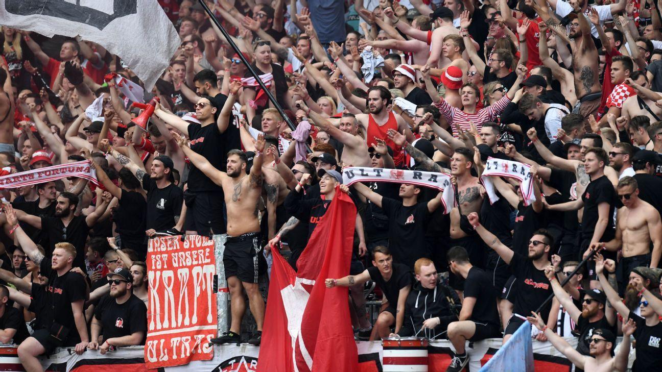 Fortuna Dusseldorf win 2. Bundesliga title; Eintracht Braunschweig down to third...