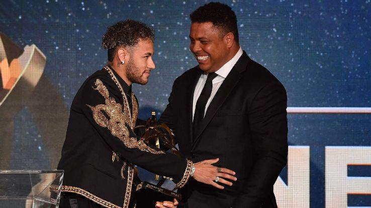Neymar Ligue 1 top player award 180513