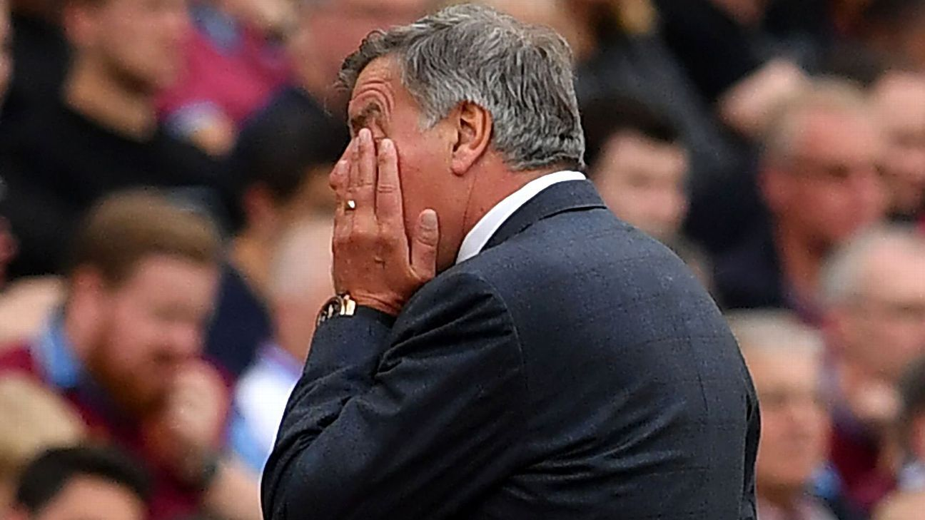 All the worst tendencies of Sam Allardyce were on display in Everton's finale.