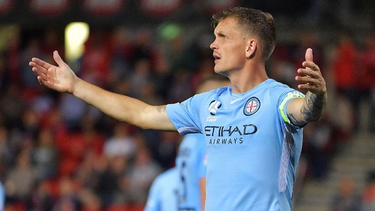 Michael Jakobsen has left Melbourne City to join Adelaide United.