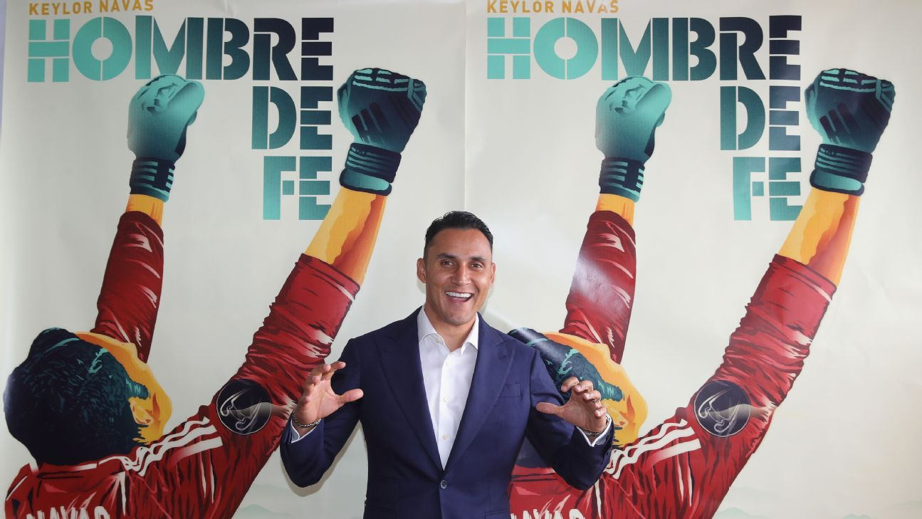 Real Madrid goalkeeper Keylor Navas promotes new movie 'Man of Faith' at Cannes