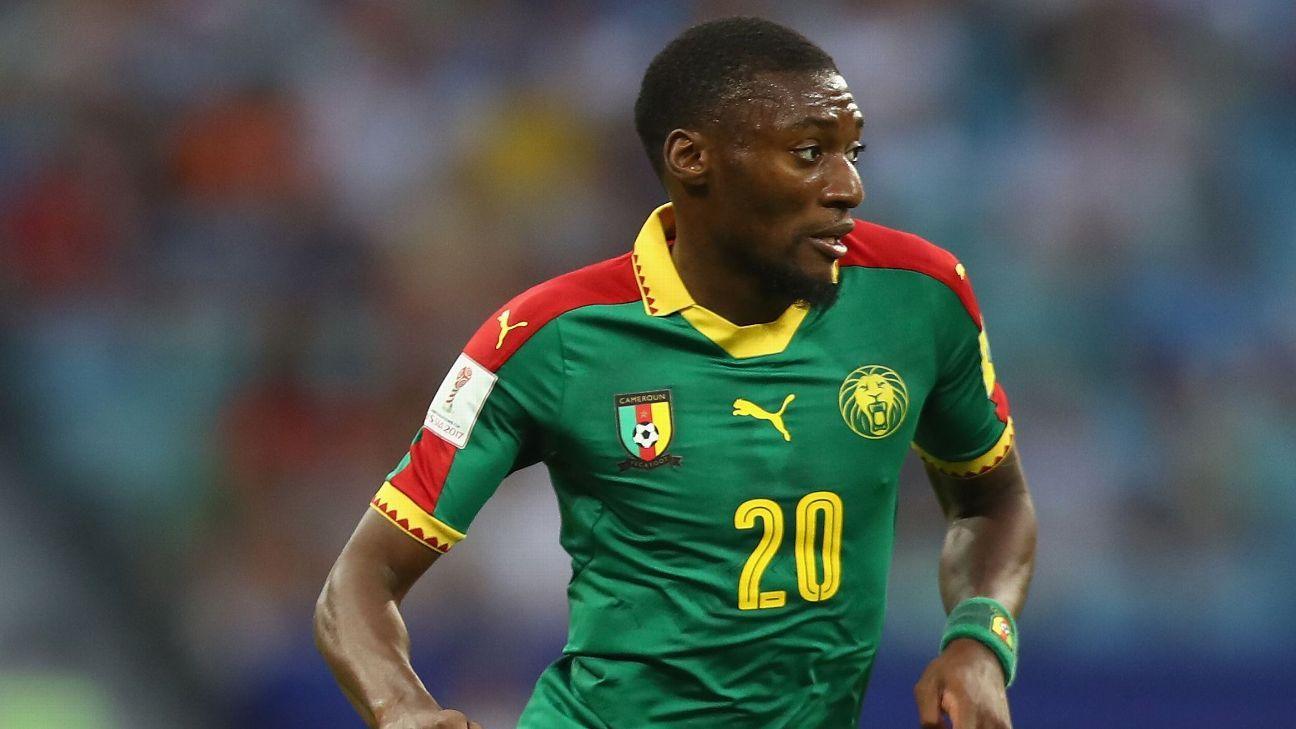 Karl Toko Ekambi of Cameroon