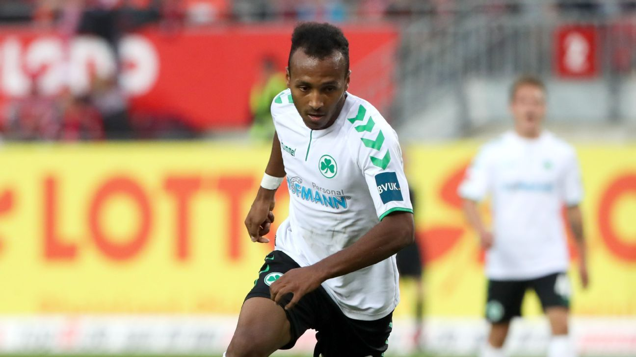 Greuther Furth's Julian Green