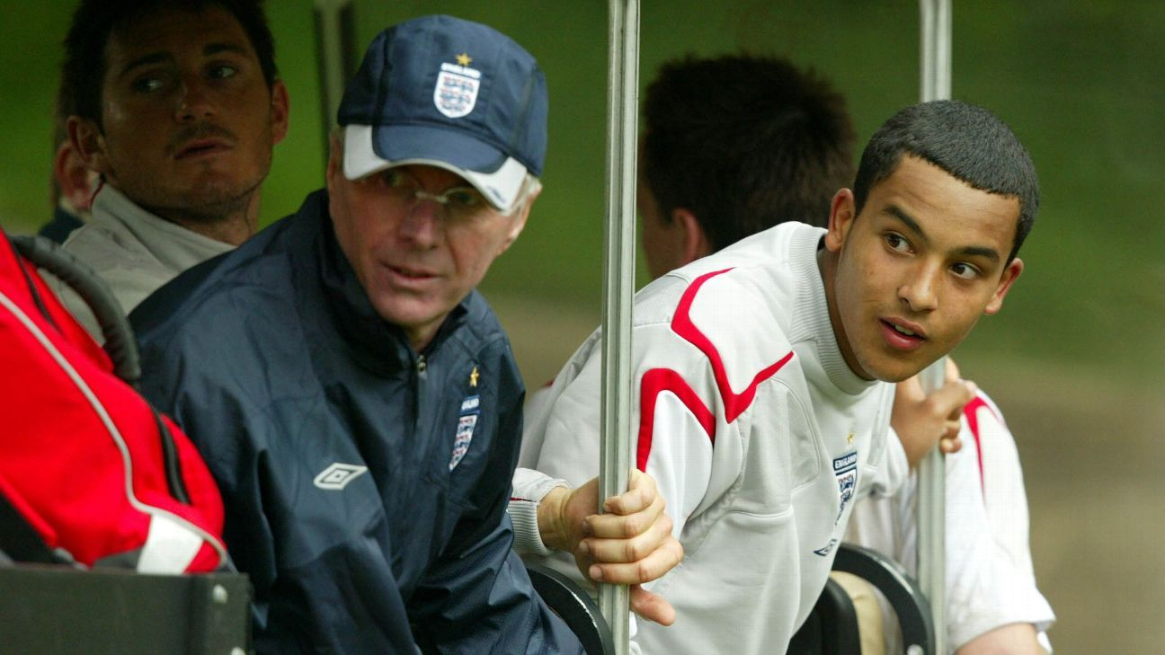 Theo Walcott was a shock inclusion in England's 2006 World Cup squad by manager Sven-Goran Eriksson
