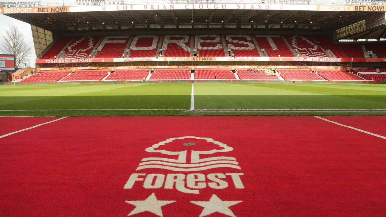 Nottingham Forest's Matthew Bondswell is attracting attention from Liverpool and Manchester United.