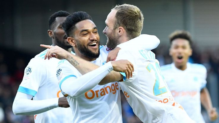 Germain, right, is the second in his family to play for Marseille in a major final. Can he win where his father did not?