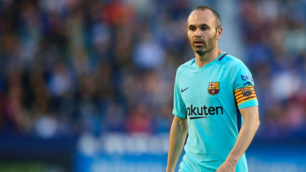 Producers deleted footage of Iniesta's interview given the accident involving the stand on which supporters were watching.