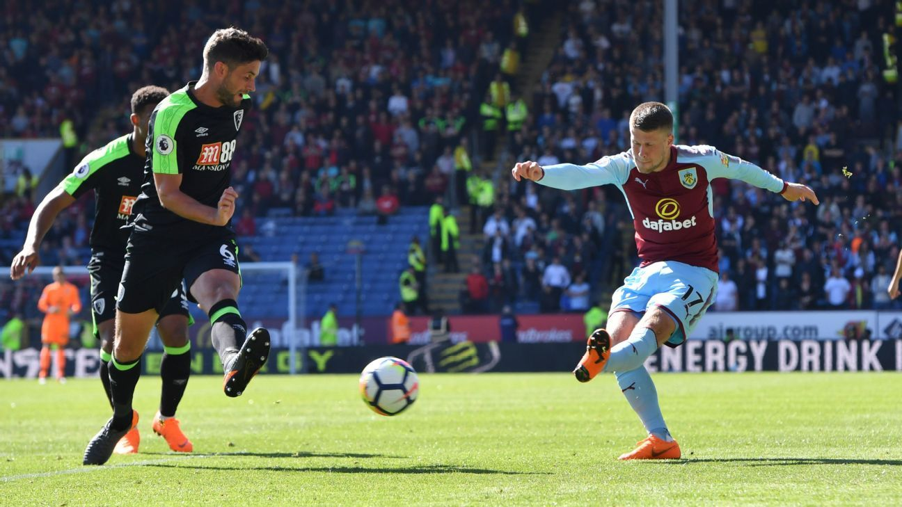 Burnley and Bournemouth are two of nine Premier League teams to have been sponsored by betting companies in 2017-18, proof of its reach into sports.