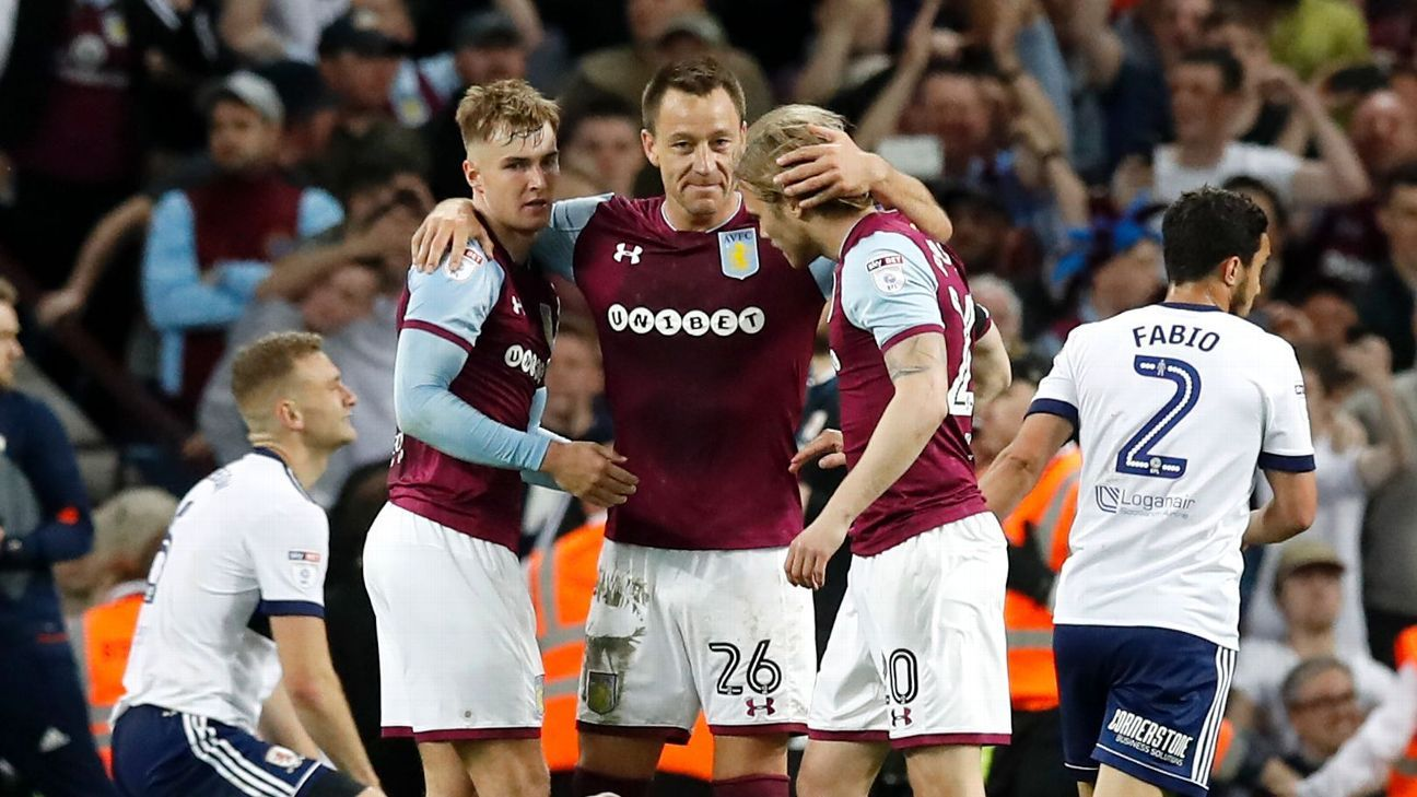 John Terry rejected Premier League interest to sign for Aston Villa in summer 2017.
