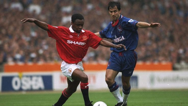 Paul Parker was apart of the Manchester United side that did the Premier League and FA Cup double in 1994.