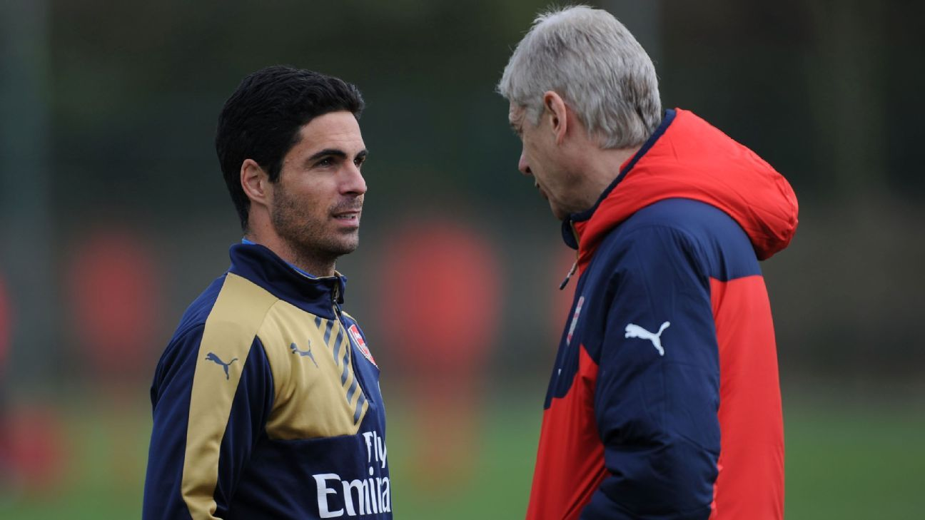 Arsene Wenger made Mikel Arteta Arsenal captain in2014