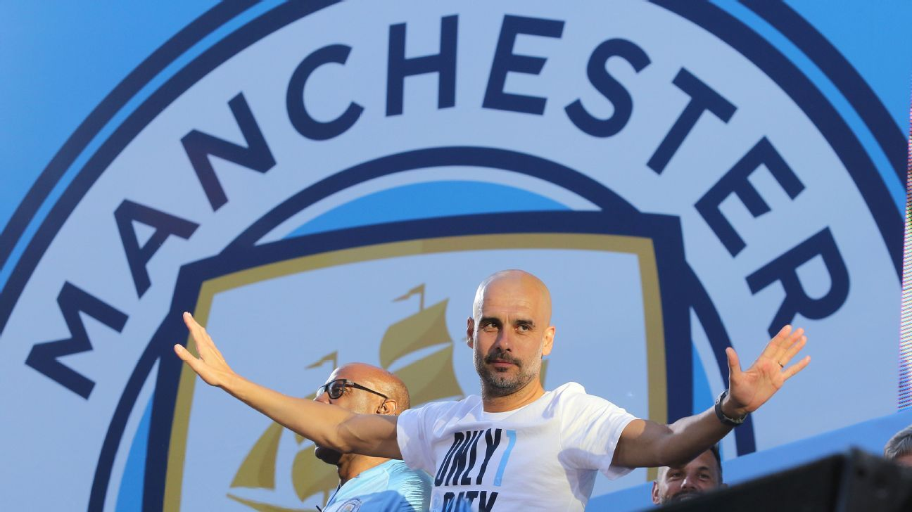 Pep Guardiola is proud of what he's accomplished so far at Manchester City but accepts he can still get better.