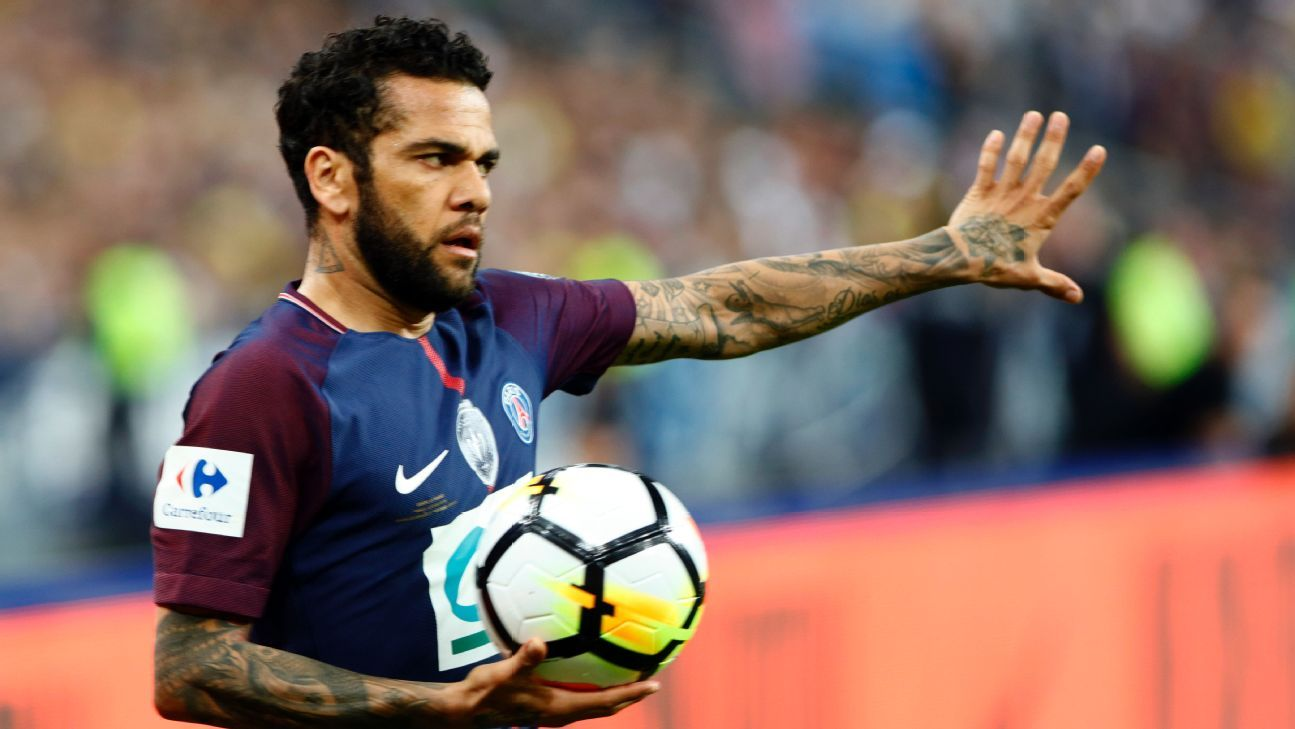 Alves' absence will hurt the Selecao in Russia as few can play right-back like he can.