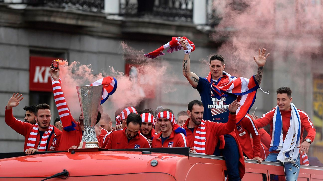 Atletico Madrid Europa parade 180518