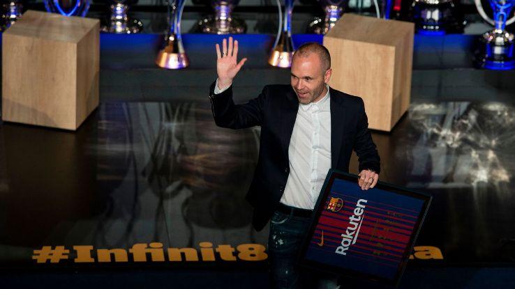 Barcelona's Andres Iniesta