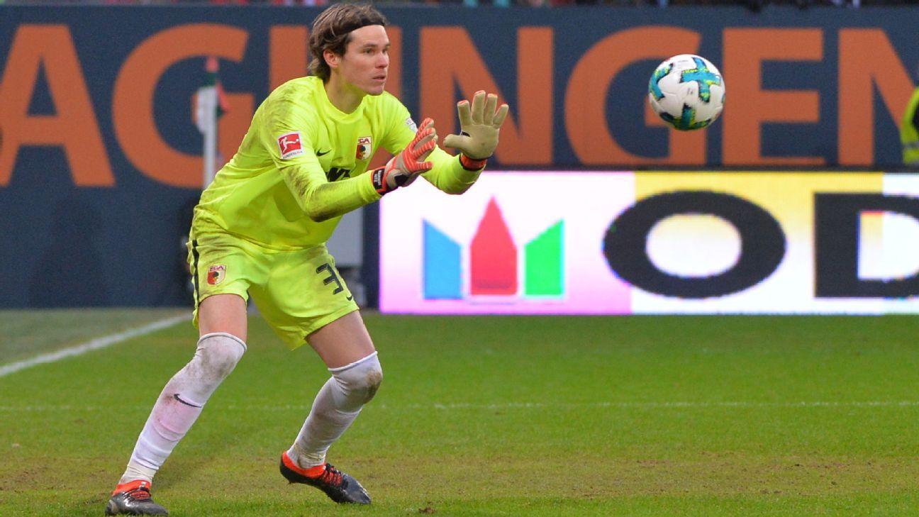Goalkeeper Marwin Hitz