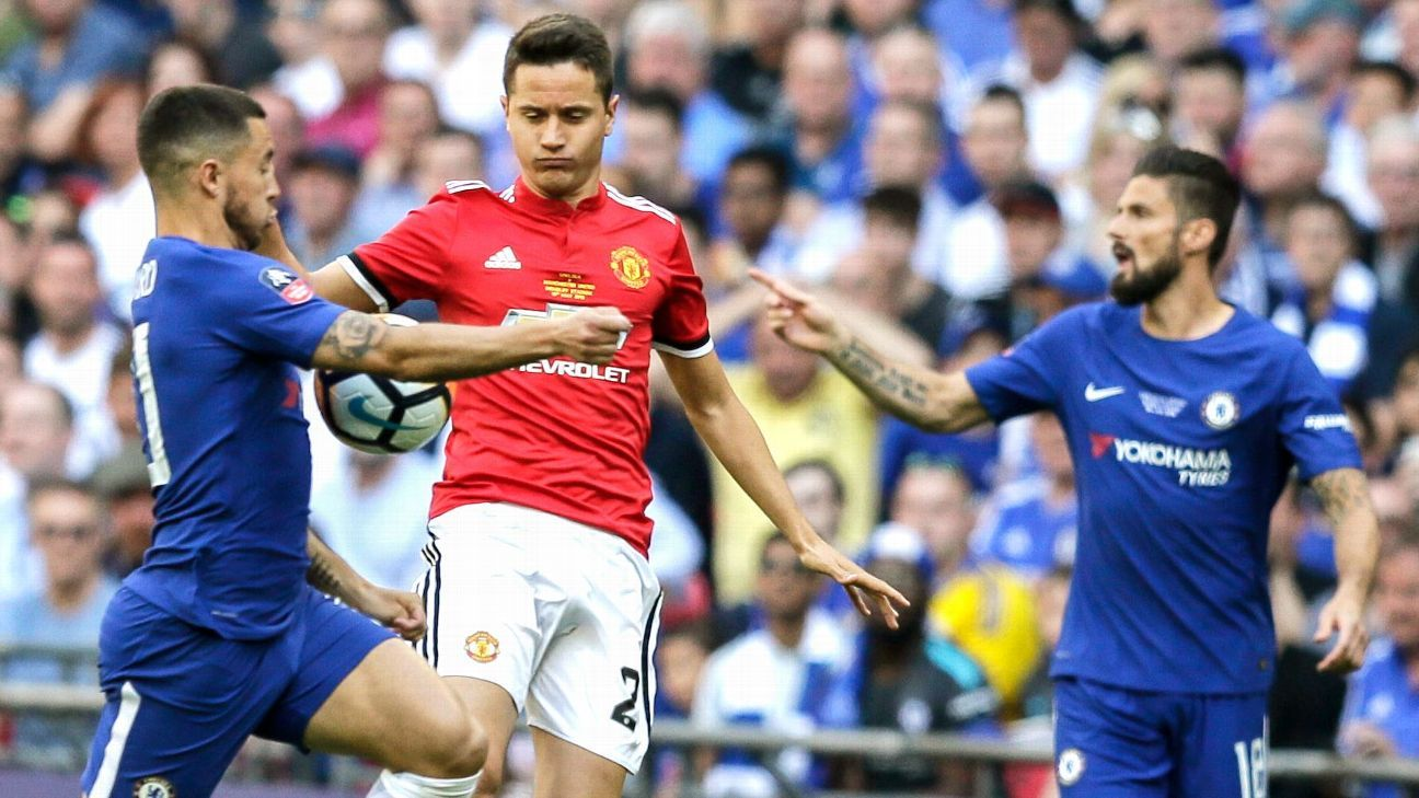 Ander Herrera: Man United 'better team by far' in FA Cup final vs. Chelsea