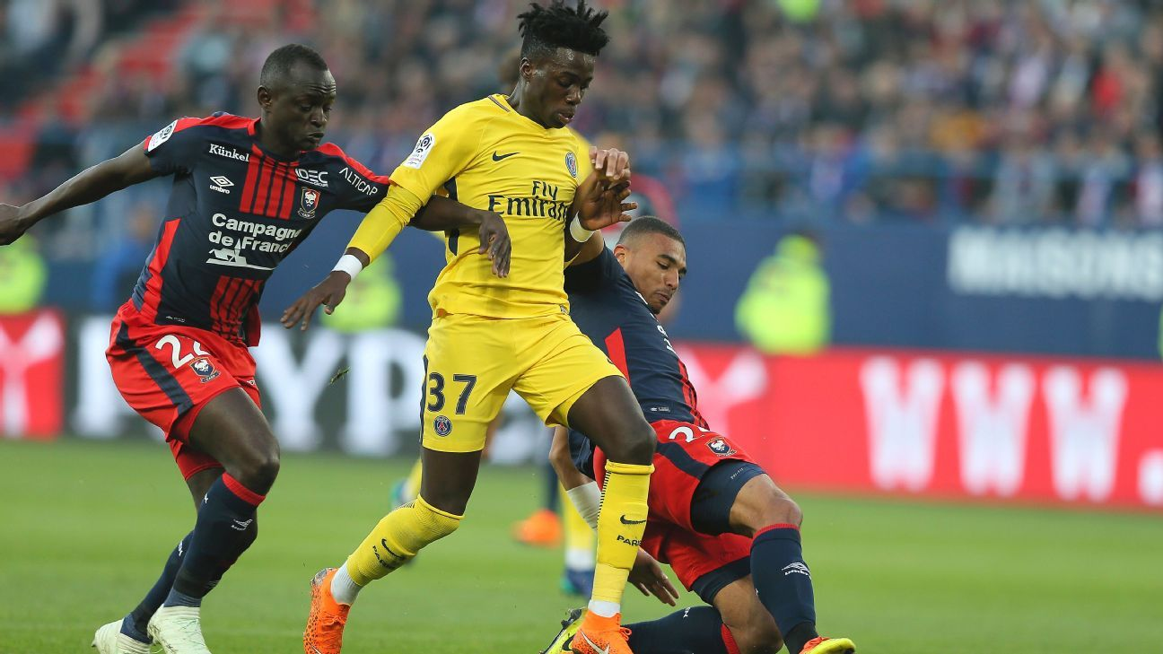 Weah action PSG 180519