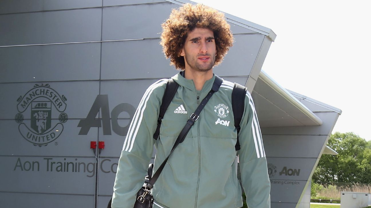 Marouane Fellaini signed for Manchester United from Everton in 2013