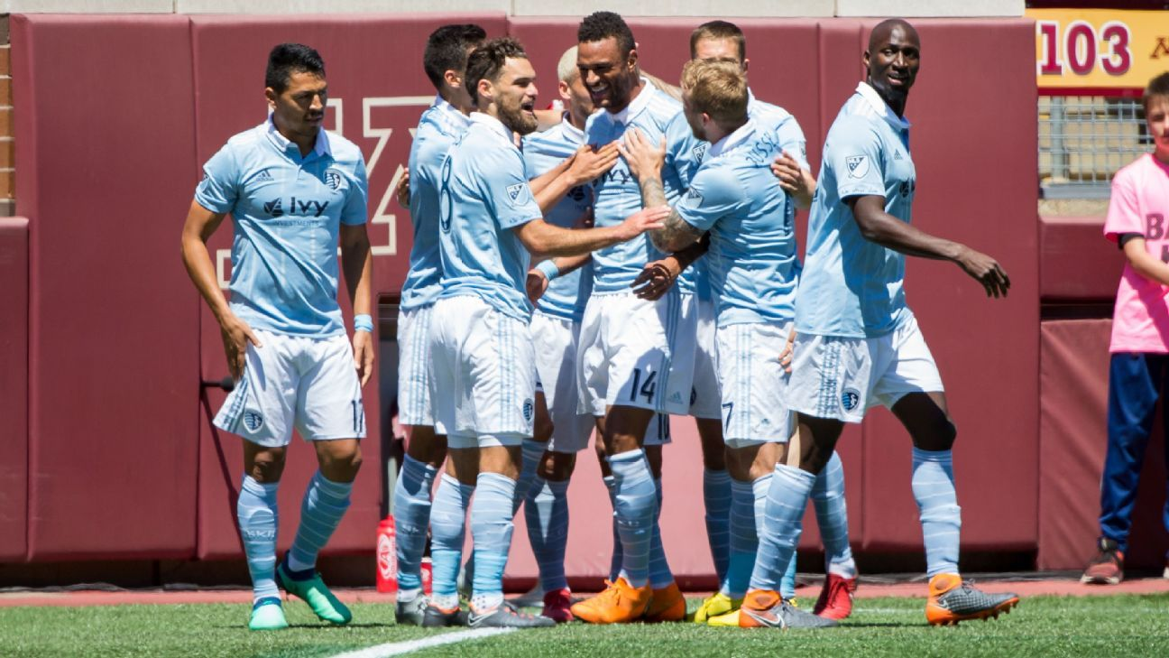 Khiry Shelton breaks Sporting KC duck in draw with Minnesota United