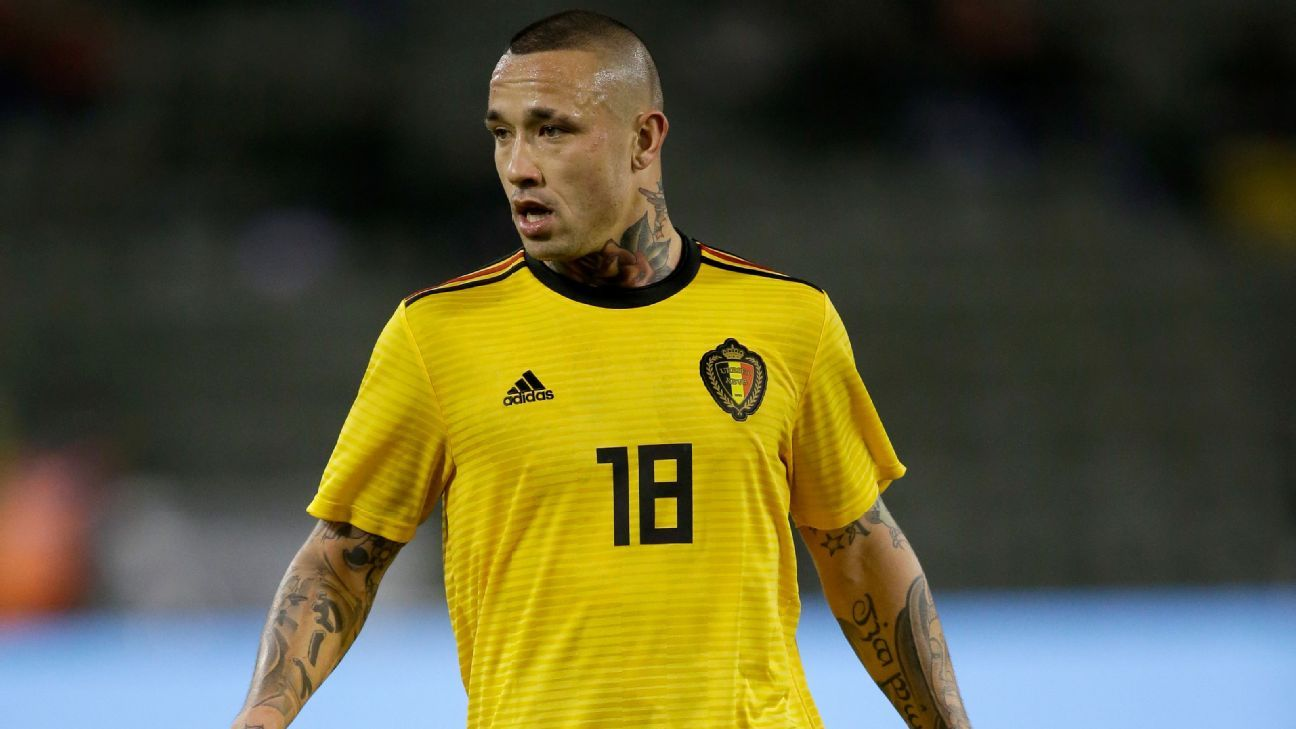 Radja Nainggolan was on Belgium's 2014 World Cup reserve list but played in all five of the national team's Euro 2016 matches