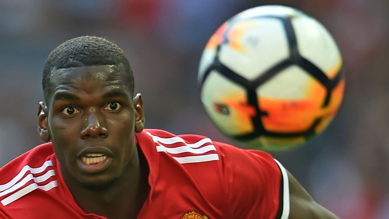 Paul Pogba is set to begin his third season since rejoining Manchester United in 2016.