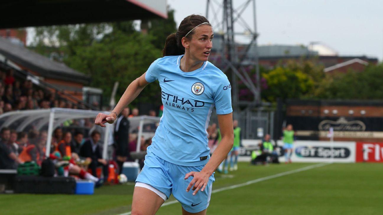 Manchester City's Jill Scott