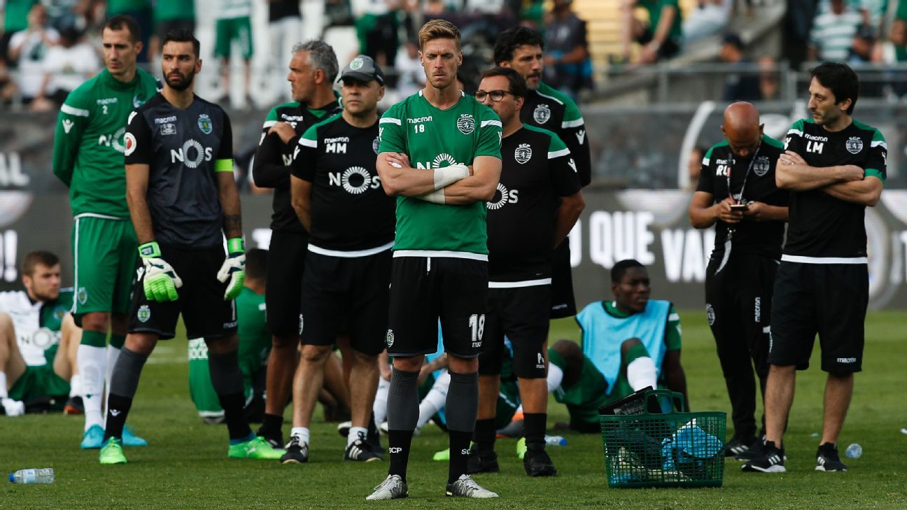 Sporting's defeat in the cup final capped one of the toughest weeks in the club's history.