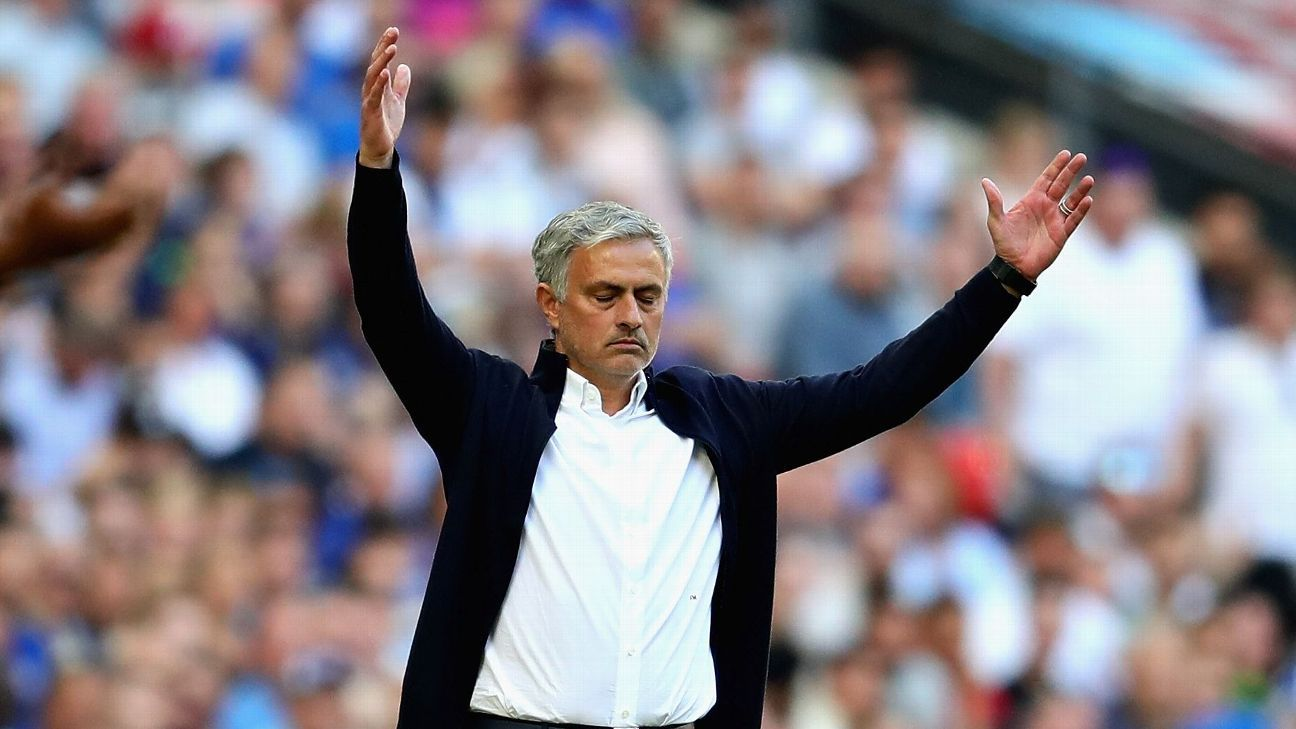 Mourinho did what Mourinho does following a high-profile defeat, lashing out at others and offering back-handed compliments to Chelsea.