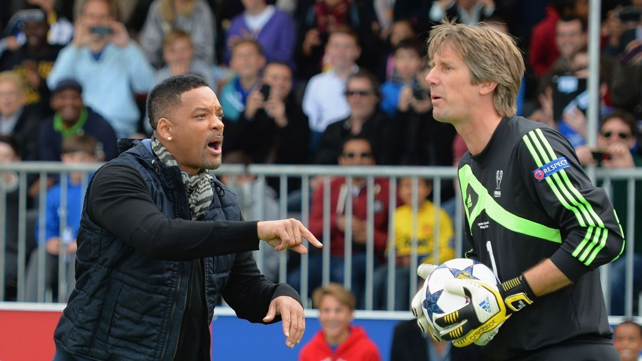 Will Smith & Edwin van der Sar