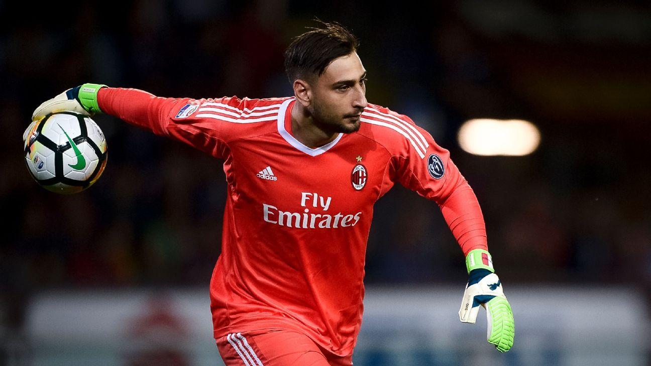 AC Milan's Gianluigi Donnarumma
