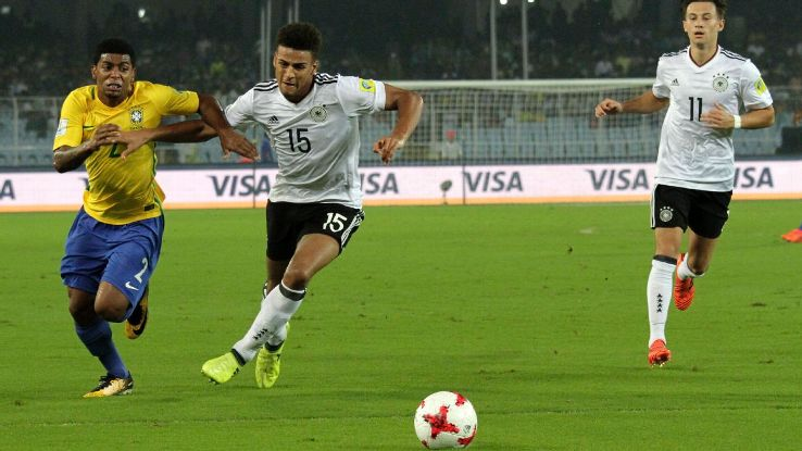 Vagnoman action Germany U17