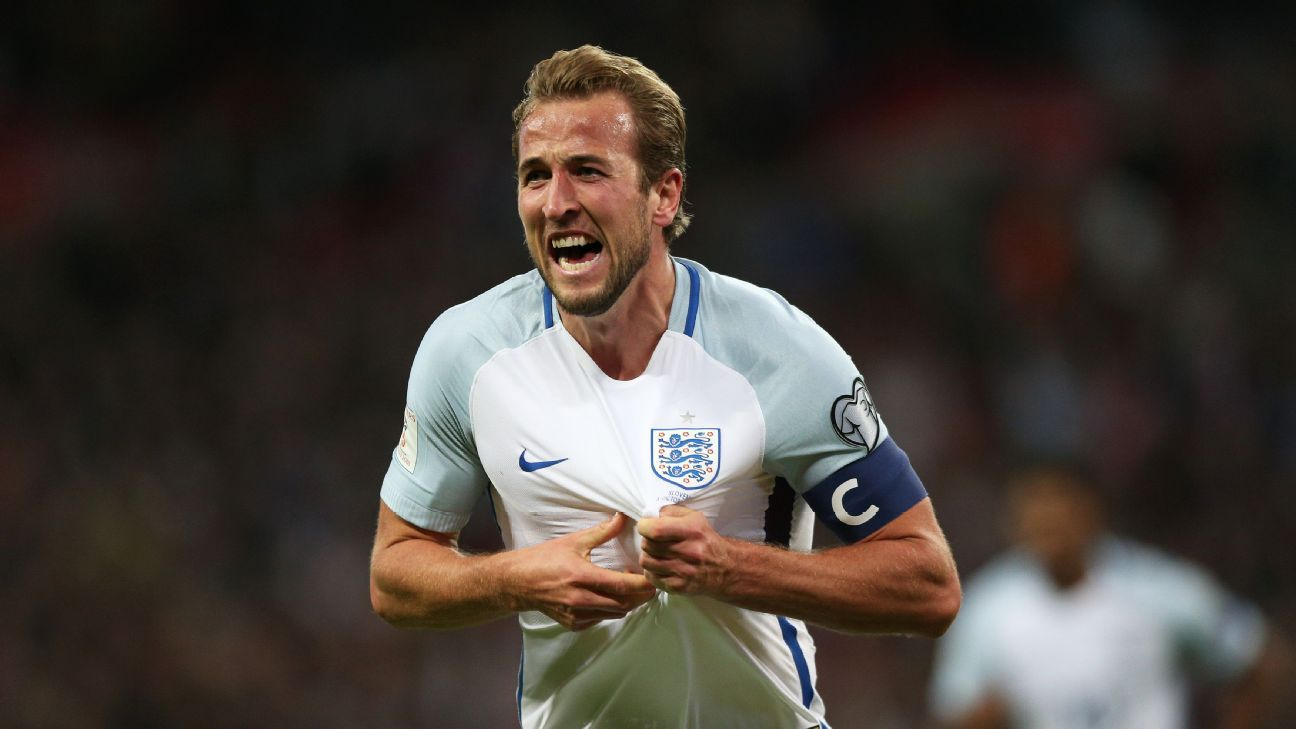 Harry Kane has relished his opportunities as captain, scoring five goals in four games for England.
