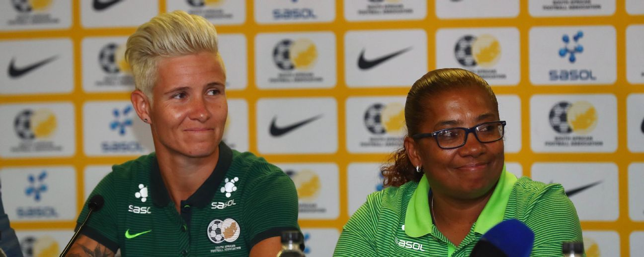 Janine van Wyk is South Africa's most capped player, and will join forces with coach Desiree Ellis to try for a maiden World Cup place.
