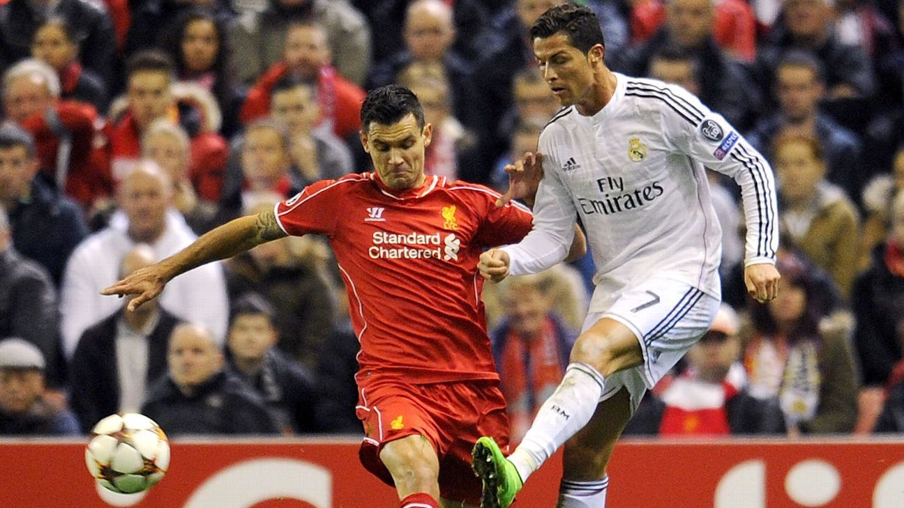 Dejan Lovren's Liverpool will face Cristiano Ronaldo and co for the first time since 2014