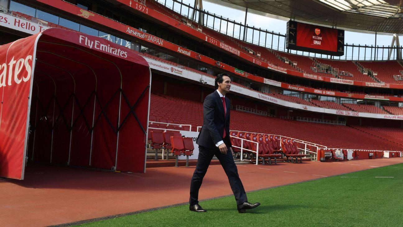 Arsenal's Unai Emery