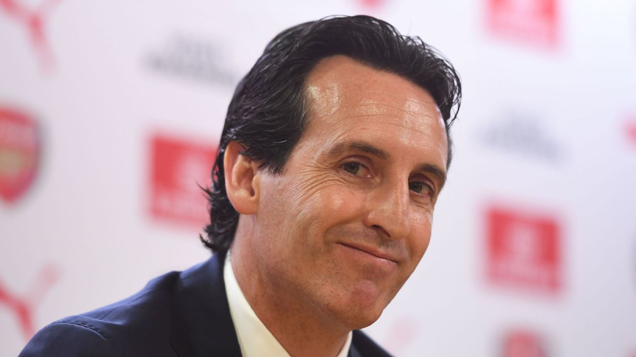 Arsenal's Unai Emery