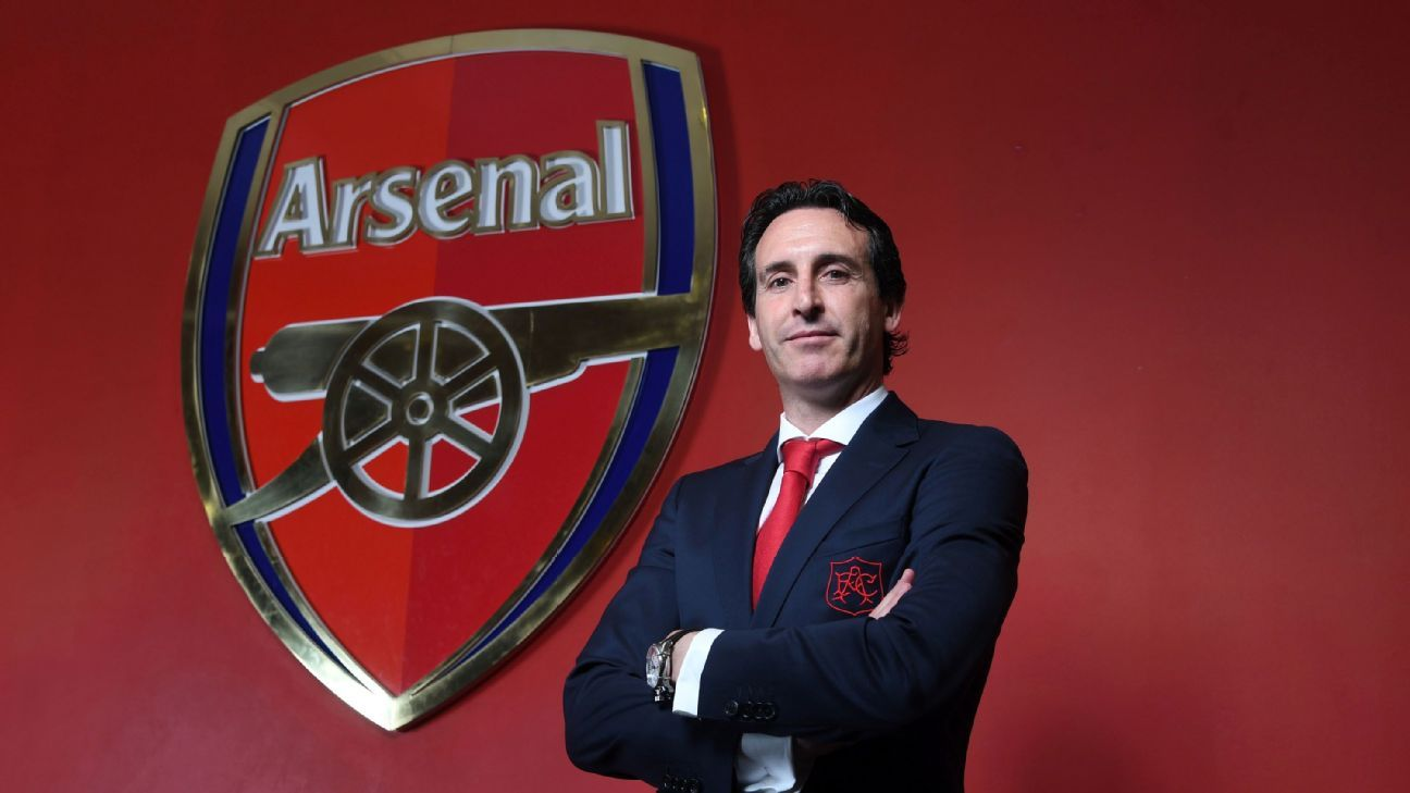 Arsenal's new boss Unai Emery.