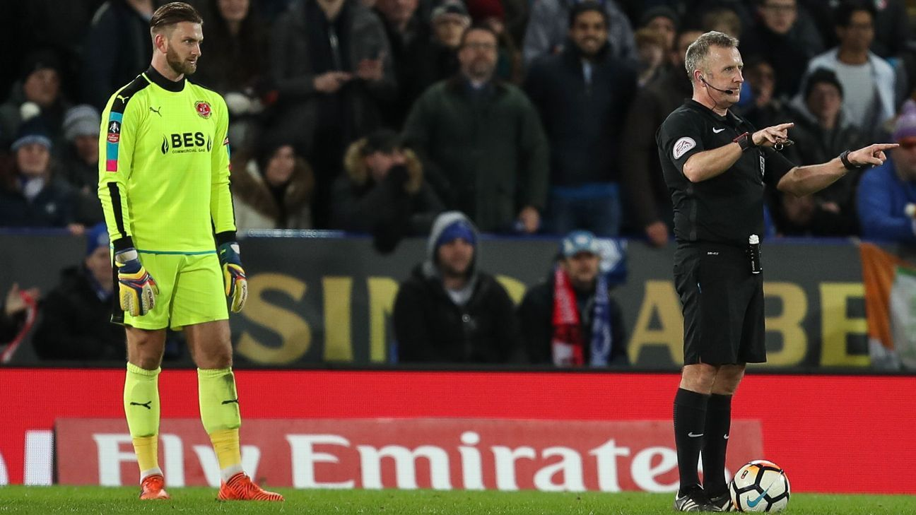 VAR made its English debut in the FA Cup, where it worked to give Leicester a legitimate goal vs. Fleetwood Town.