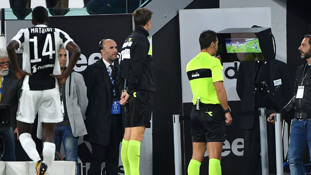 VAR's success in Italy has been mixed but it has correctly on a number of occasions.
