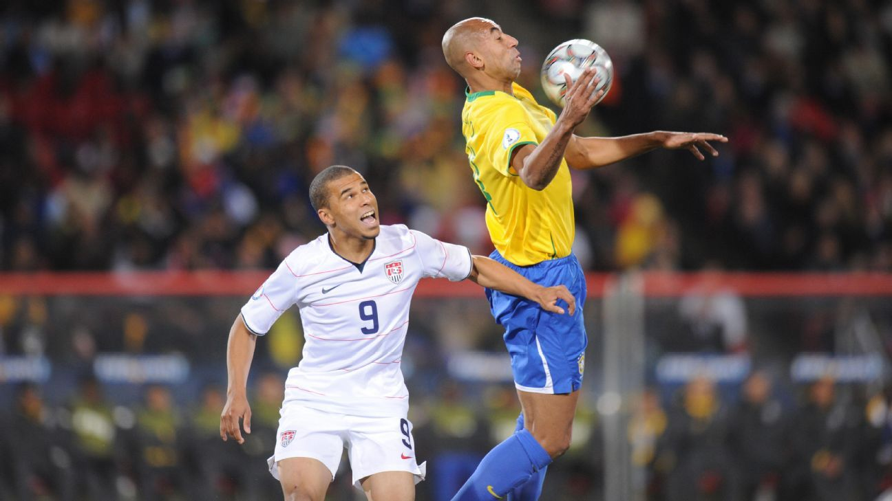 Charlie Davies and the U.S. got to cut their teeth at the 2007 Copa America, valuable experience for a young core of players.