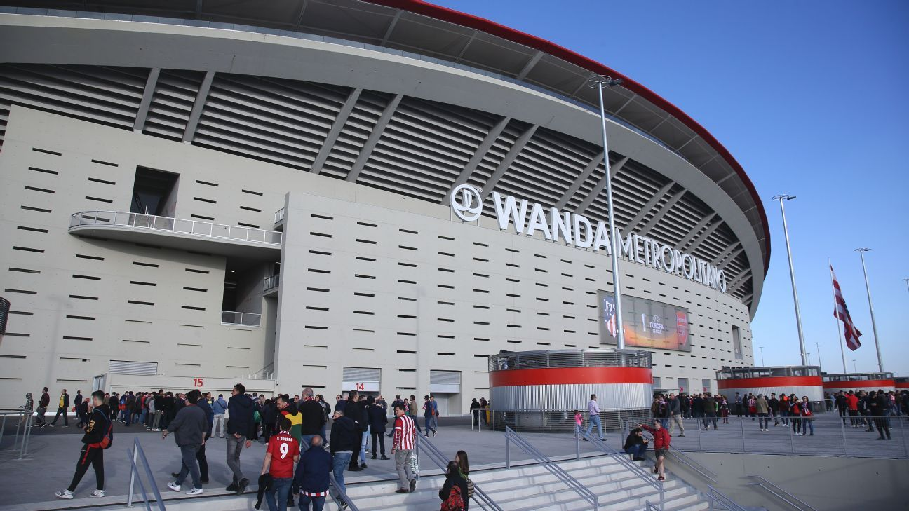 Wanda Metropolitano outside view