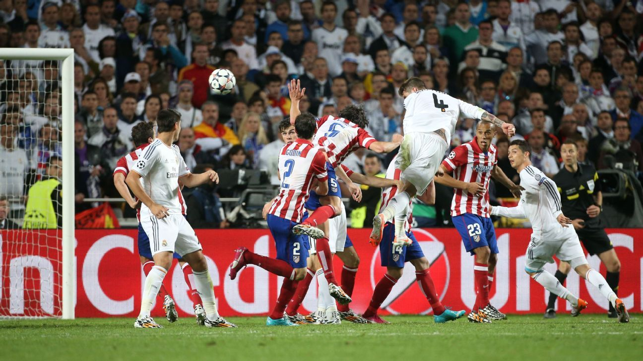 Sergio Ramos has been a vital player for Real Madrid, scoring crucial goals in several semifinals and twice in the final to lead his team towards victory.
