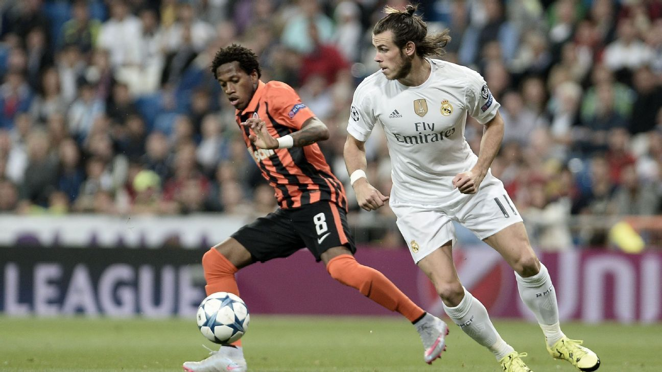 Fred (left) could see more of the big stage if he joins Manchester United.