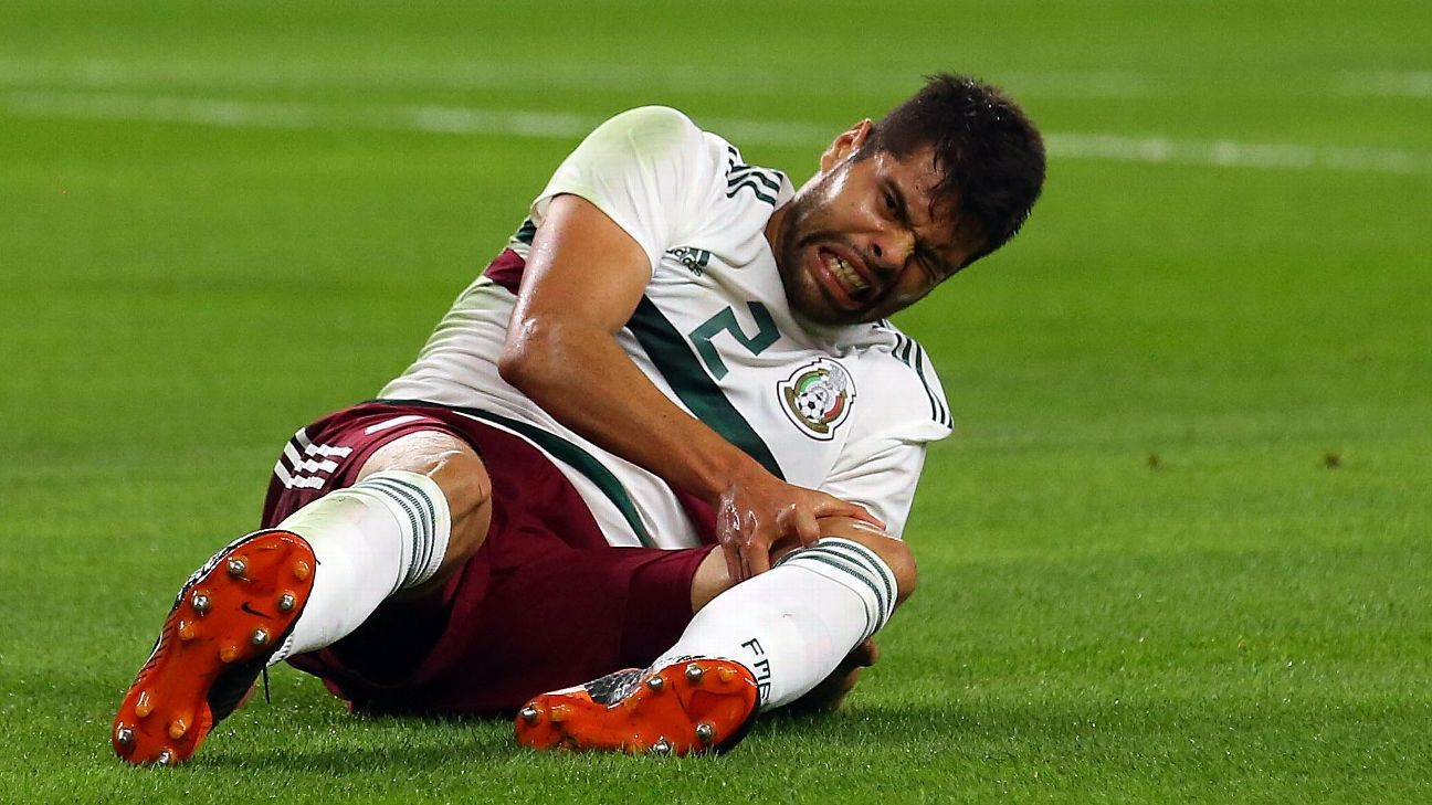 Araujo's set-back in recovering from a knee injury has ruled him out of the World Cup, a big loss for Mexico.