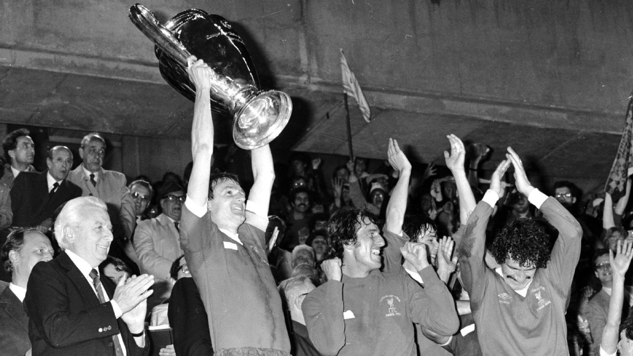 Liverpool beat Real Madrid 1-0 to lift the European Cup in 1981.
