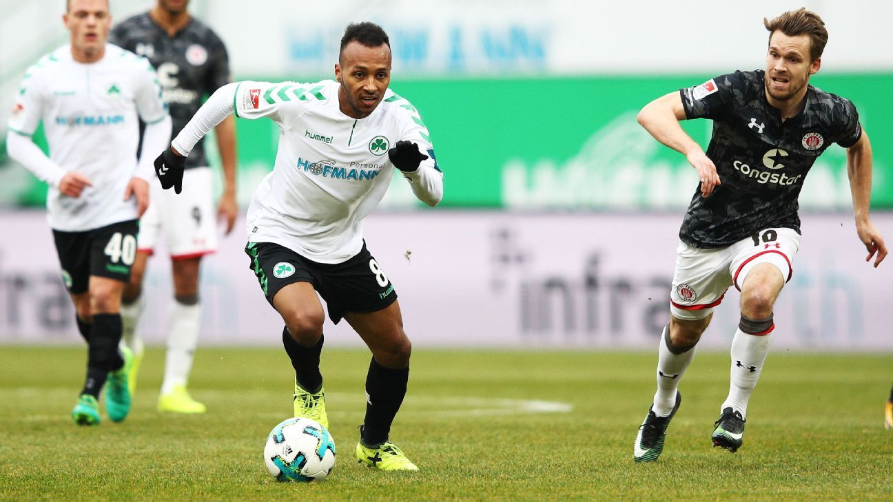 Green's career stuttered after the 2014 World Cup but he's now back on track and confident following a great season in 2. Bundesliga.