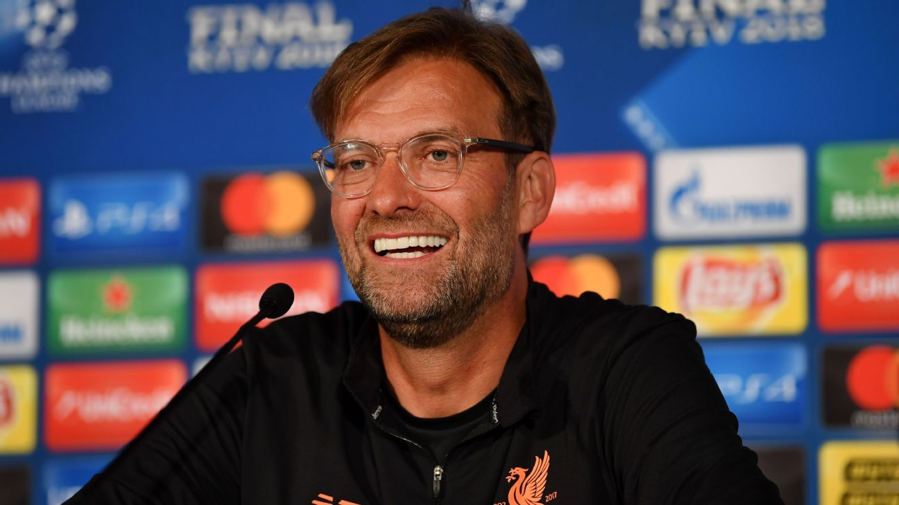Jurgen Klopp has reached two European finals as Liverpool manager.