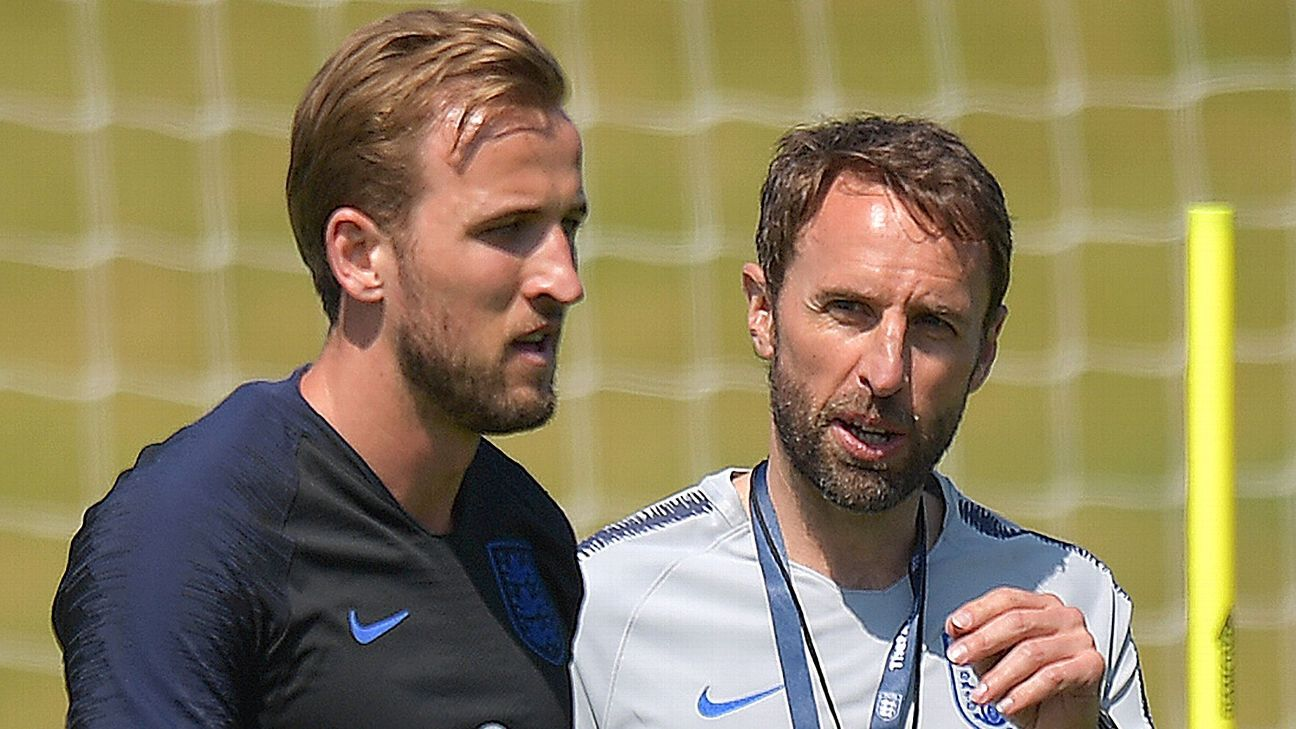 Southgate's solution to not having a ton of time to practice with England is to simply adopt the methods his players are learning with the Premier League's top coaches.